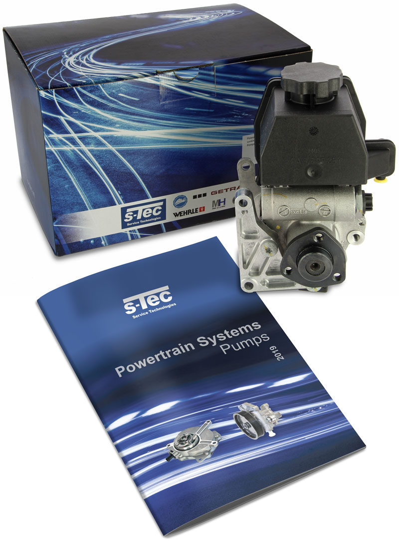 S-Tec Power Steering Pump