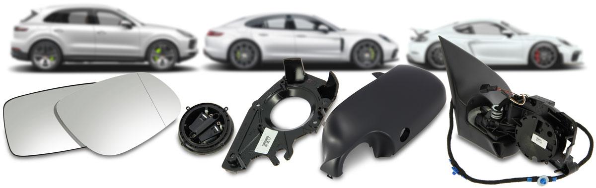 OEM Porsche Mirrors from KPS
