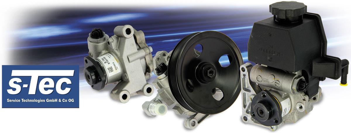 s-tec power steering pumps